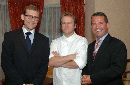 Nick Munier and Celeb Chefs at The Ardilaun's Real Galway Banquet